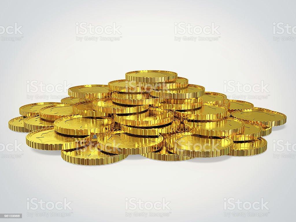 Moneta foto stock royalty-free