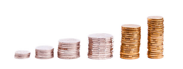 Coin Stack - Growth Concept stock photo