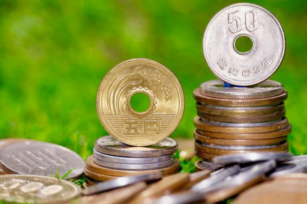Japanische Münze Bilder Und Stockfotos Istock
