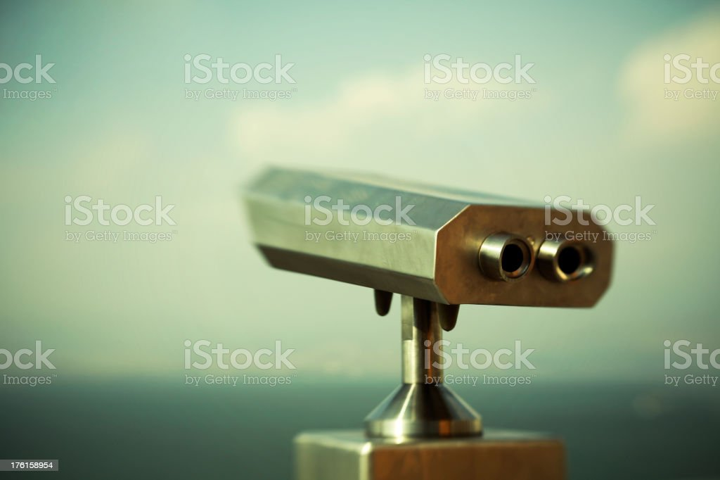 Coincidences and Binoculars royalty-free stock photo