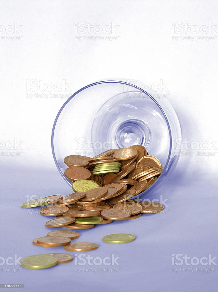 Coins 7 royalty-free stock photo