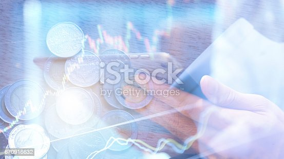 istock coins and account book in finance and banking concept 670916632