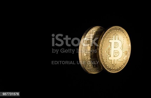 istock coins are bitcoin and litecoin 937731576