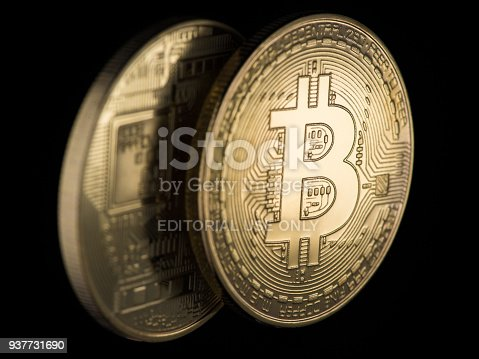 istock coins are bitcoin and litecoin 937731690