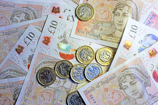 Coins Banknotes Stock Photo - Download Image Now