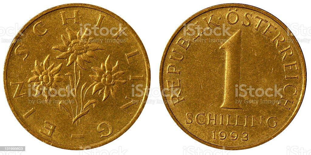 硬貨マクロ 1 オーストリアシリ...