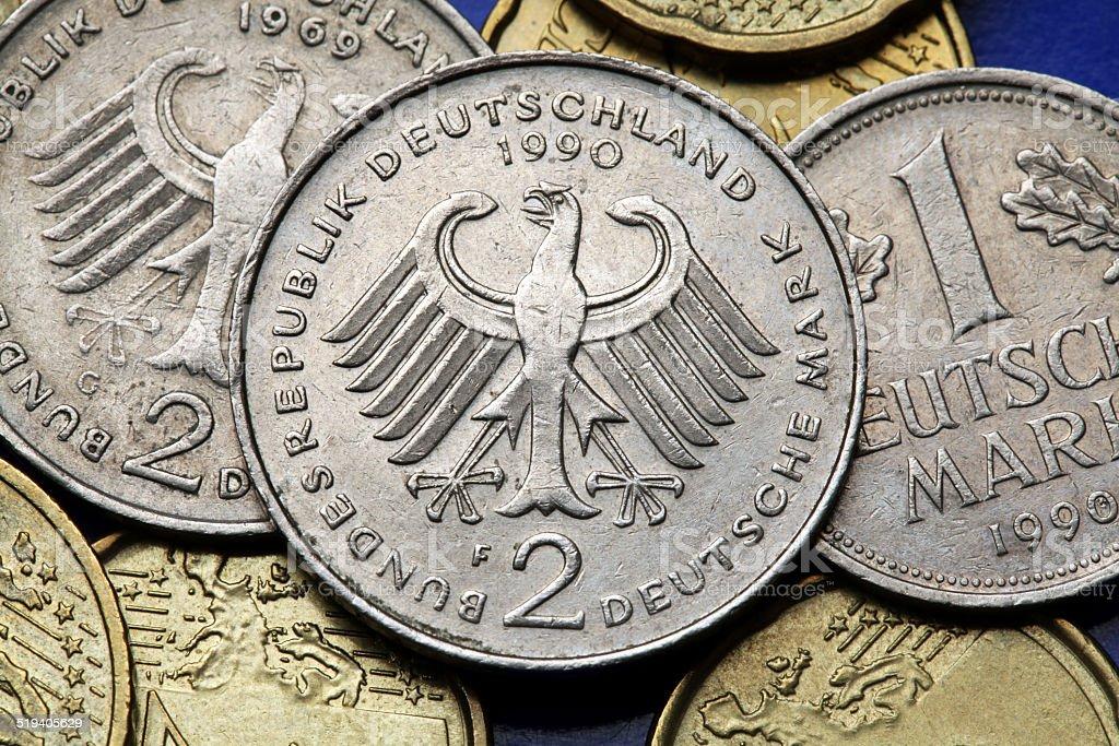 Münzen Von Deutschland Stockfoto 519405629 Istock