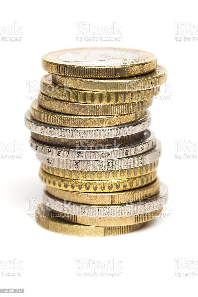 Coins. stock photo