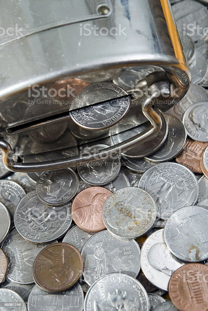 Monete foto stock royalty-free
