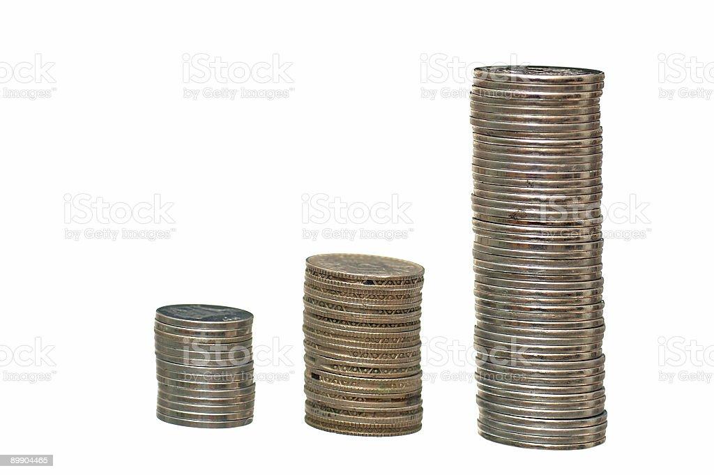 Монеты Стоковые фото Стоковая фотография