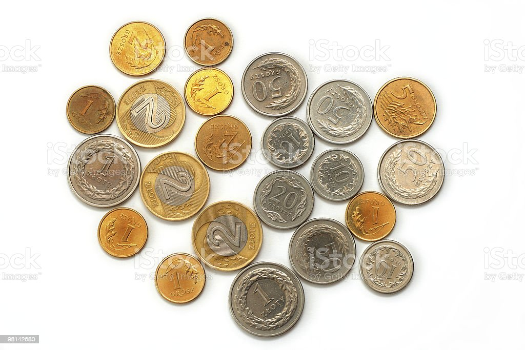 Coins royalty-free stock photo