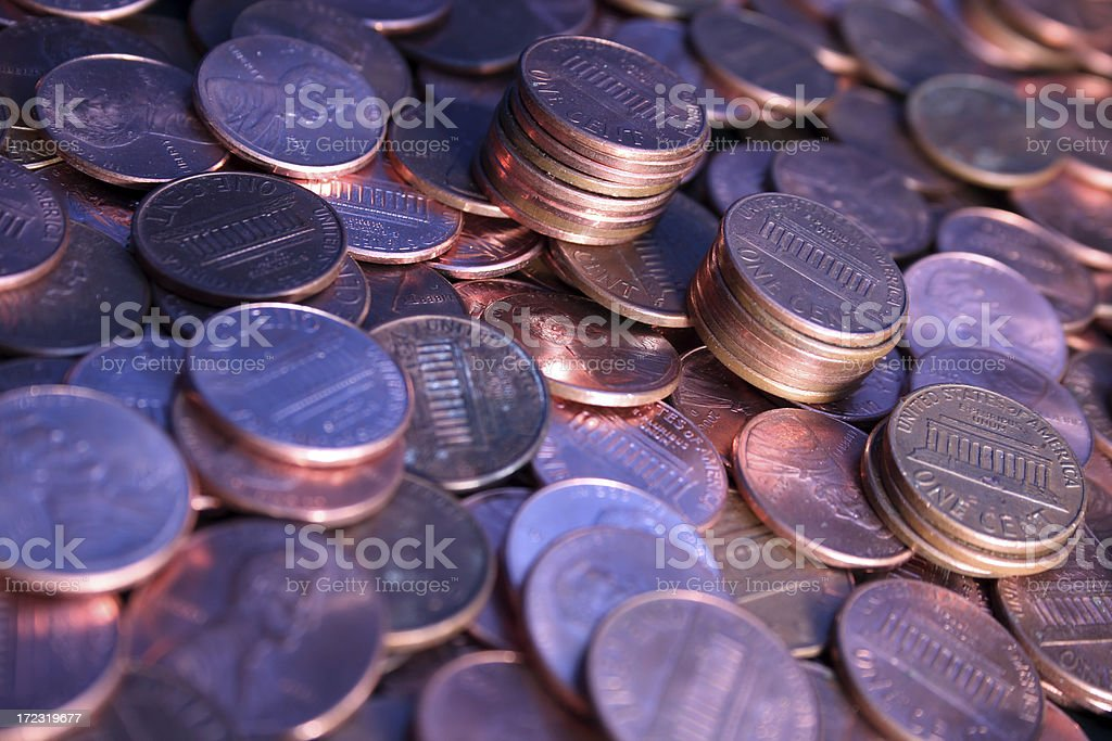 Coins series 6 royalty-free stock photo