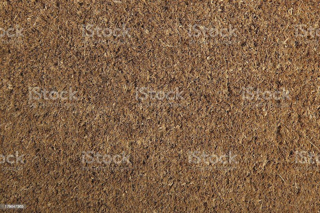 Coir Doormat Background Texture stock photo