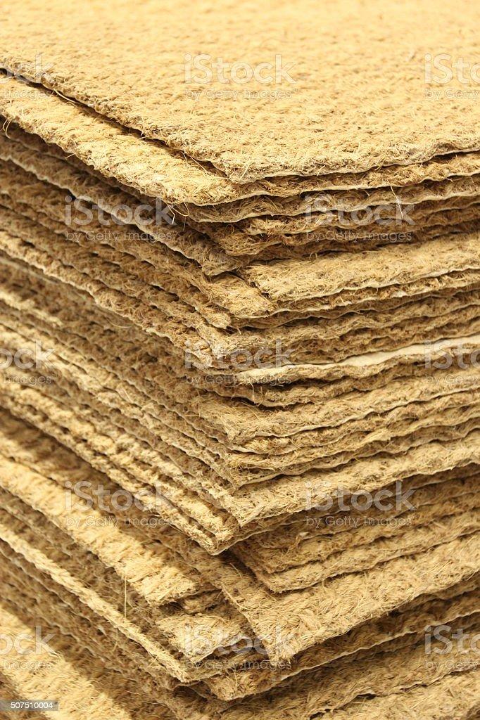 Coir Doormat stock photo