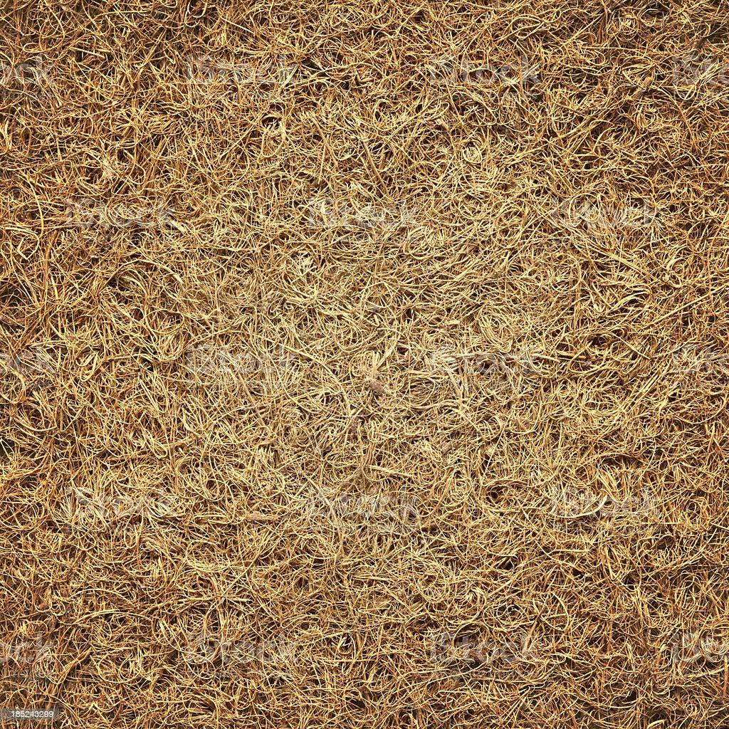 Coir mat texture stock photo
