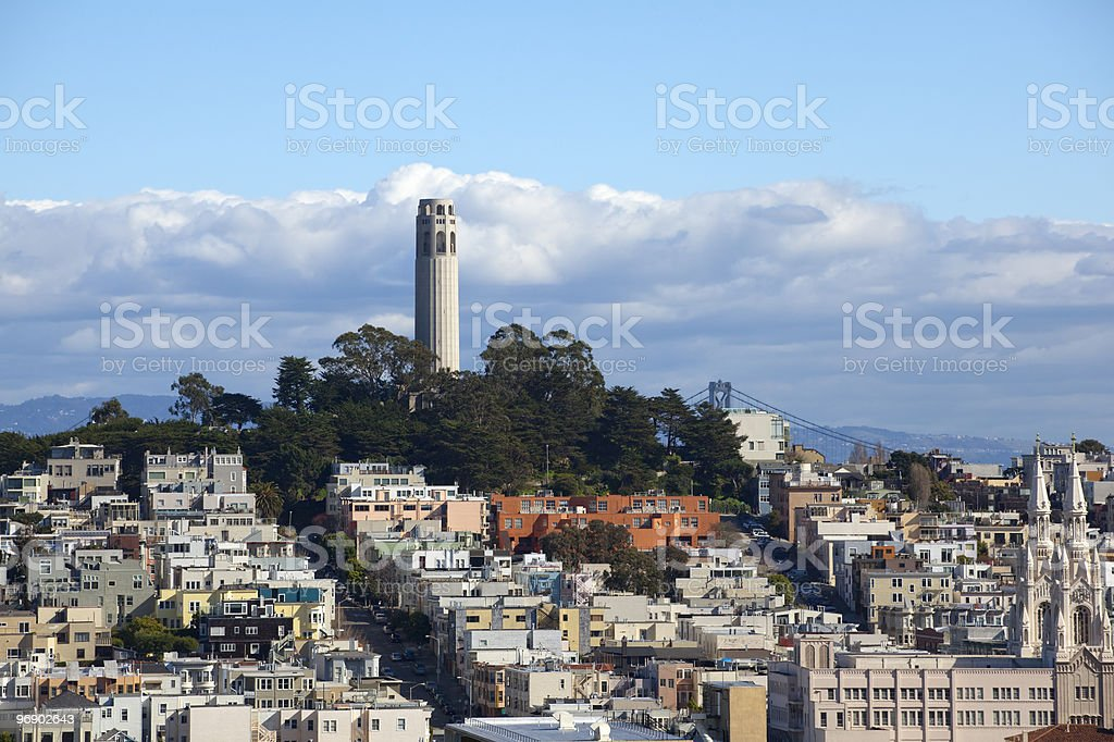 Coit Tower royalty-free stock photo