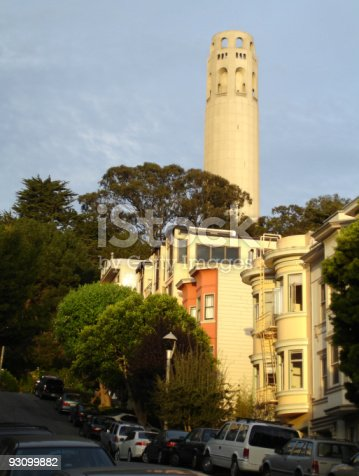 904795294 istock photo Coit Tower Sunset, San Francisco 93099882