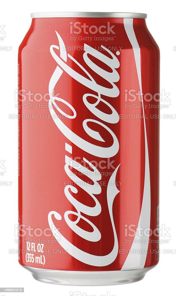 Coke Can stock photo