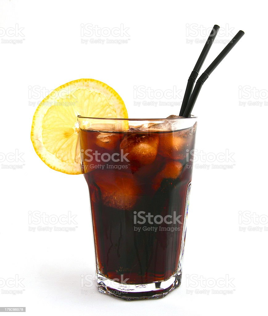 Coke with a twist royalty-free stock photo