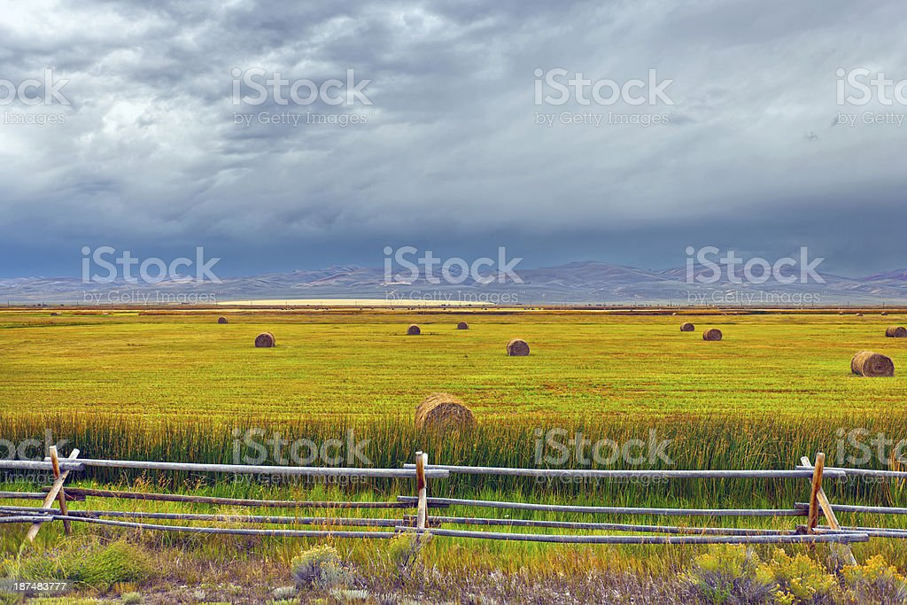 Cokeville Meadows National Wildlife Refuge royalty-free stock photo