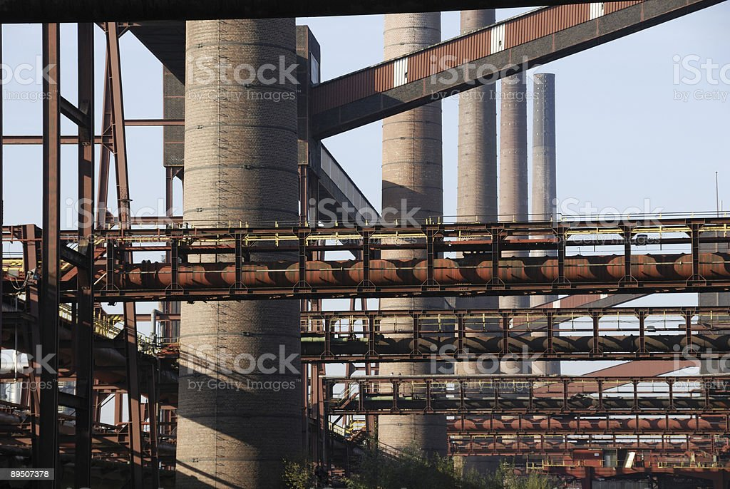 coking plant Zollverein royalty-free stock photo