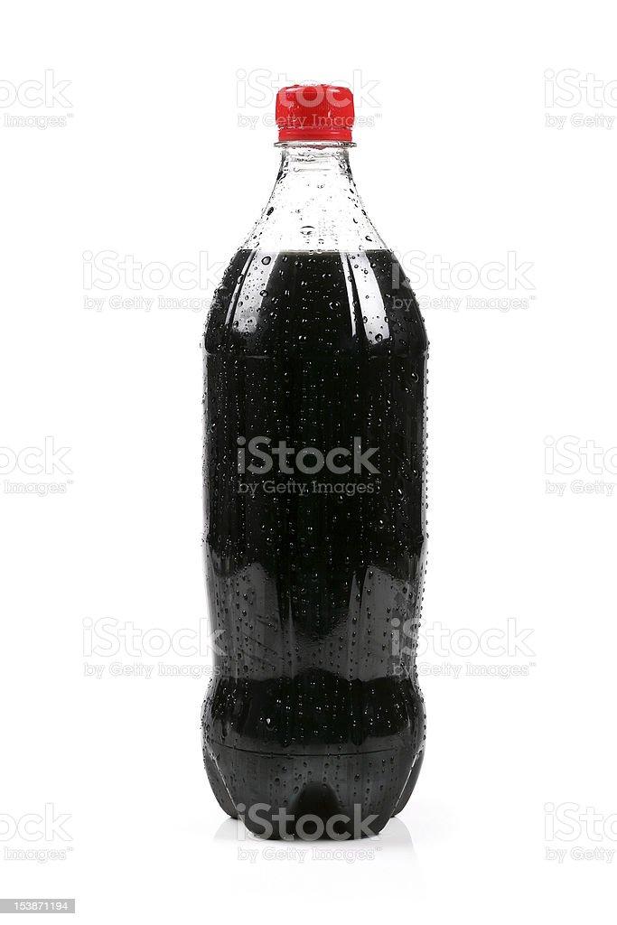 cola de botella - foto de stock