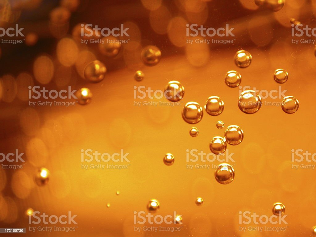 Cola Bubbles stock photo