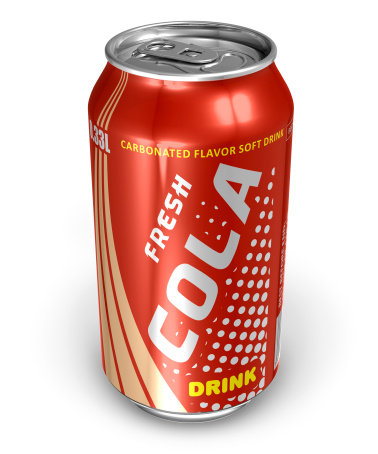 istock Cola drink in metal can 120659767