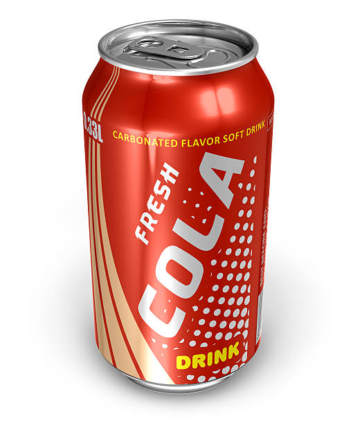 Cola drink in metal can See also: can stock pictures, royalty-free photos & images