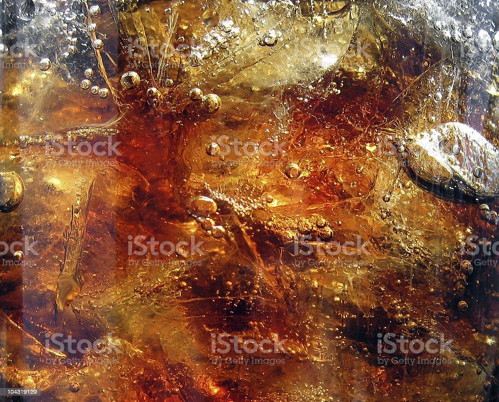 Cola und Eis & Luft-Blasen – Foto