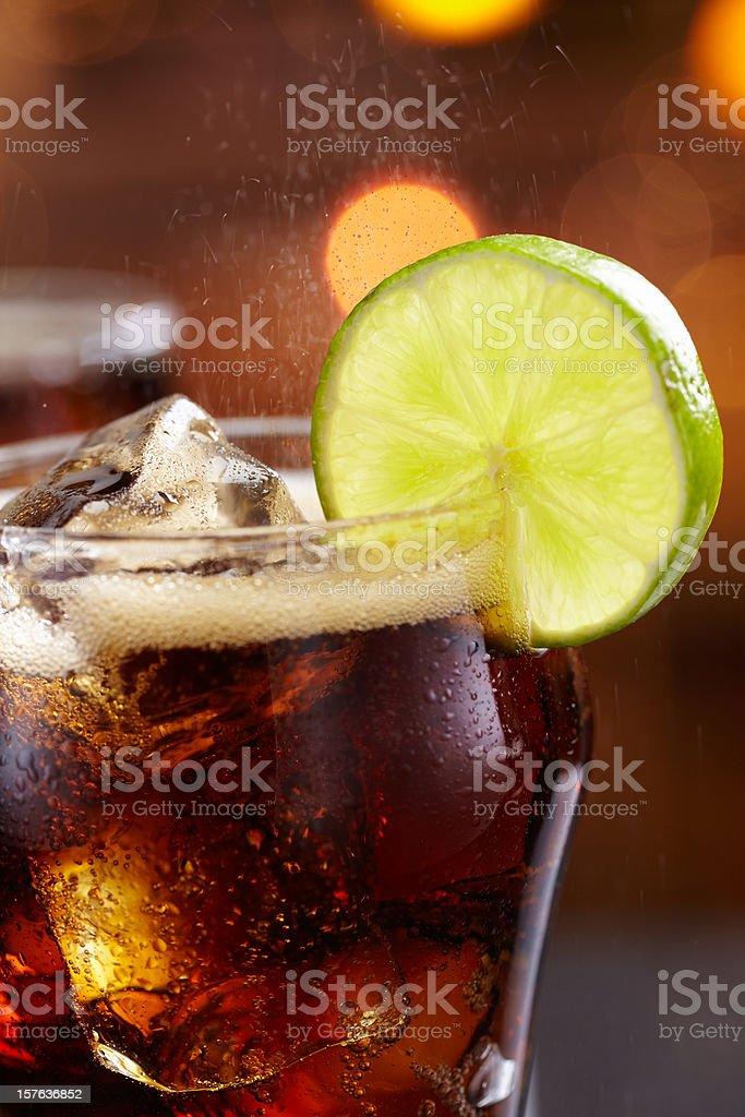 Cola royalty-free stock photo