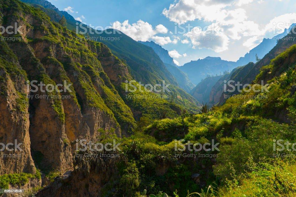 Colca Canyon Arequipa Region stock photo