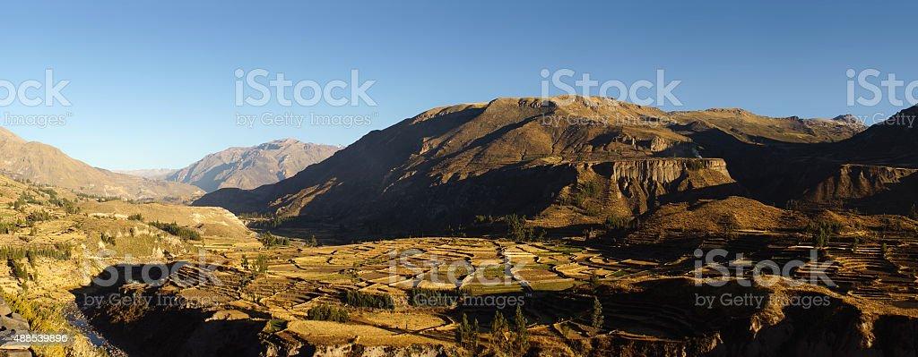 Colca Canyon stock photo
