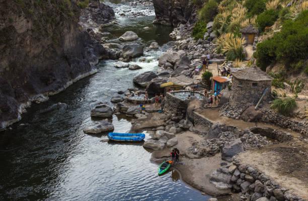 科爾卡河冒險 - 阿爾蒂普拉諾山脈 個照片及圖片檔