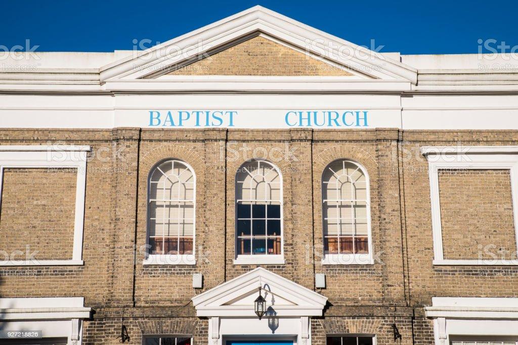 Colchester Baptist Church in Essex, UK stock photo