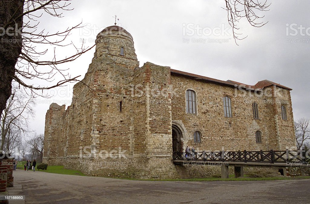 Colchester Castle royalty-free stock photo