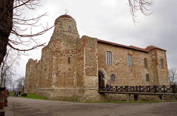 Colchester Castle stock photo