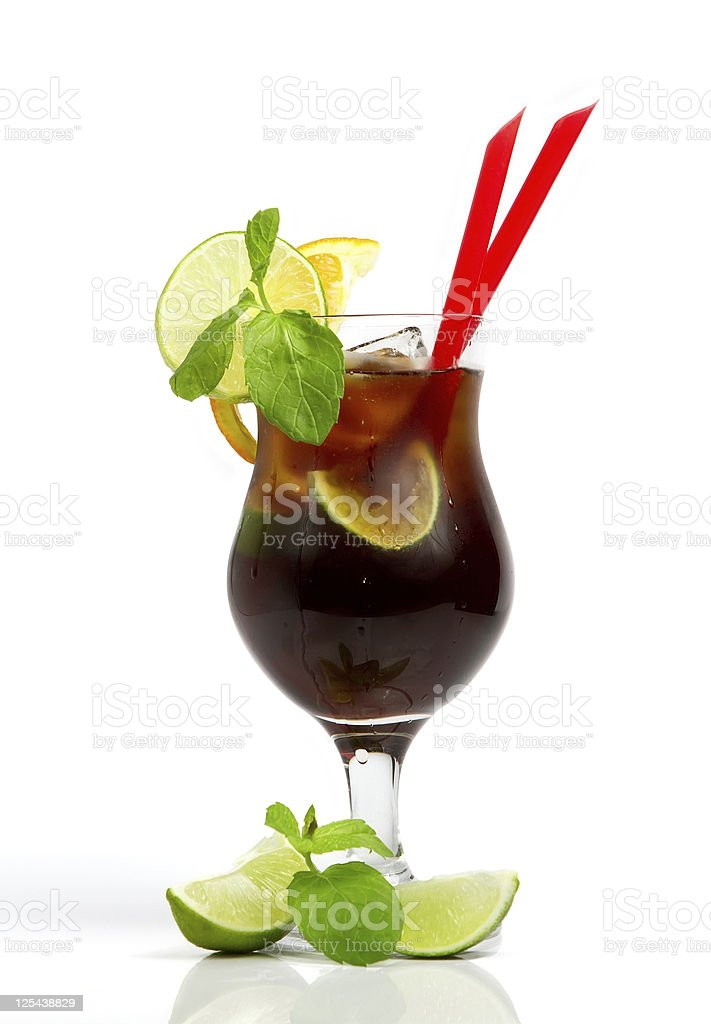 Cold alcohol drink royalty-free stock photo