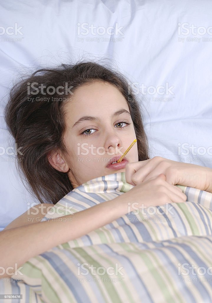 cold and fever royalty-free stock photo