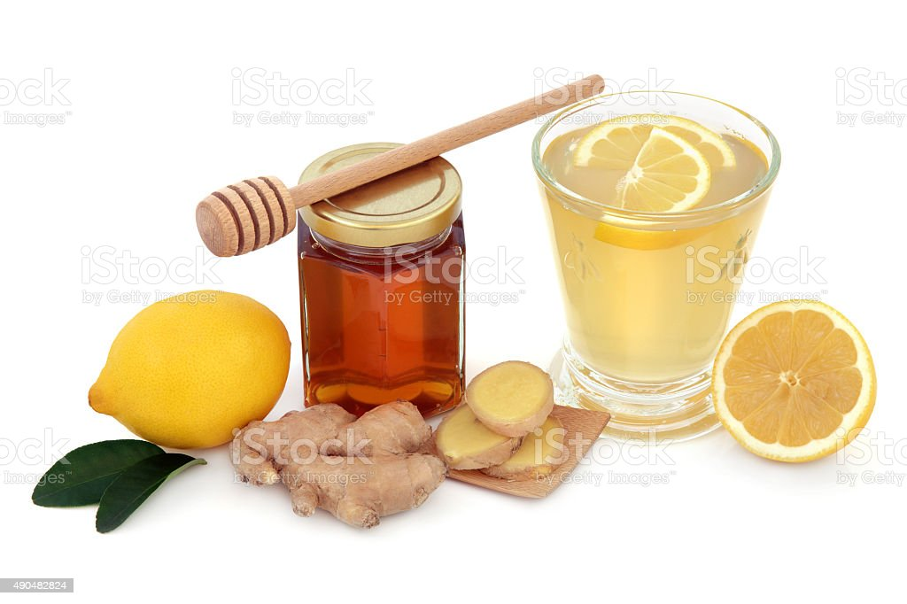 Cold and Flu Remedy stock photo