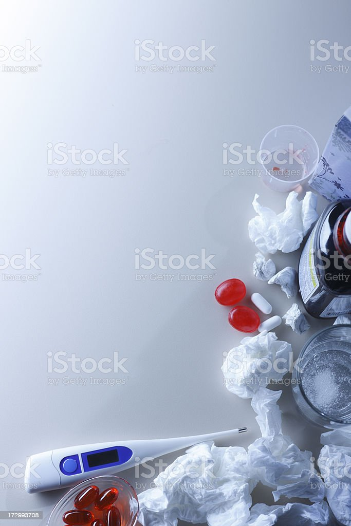 Cold and Flu Season royalty-free stock photo