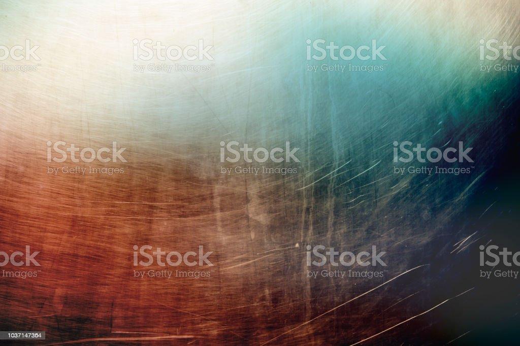Kalte Und Warme Farbige Metallische Geschabt Wand Textur Oder ...