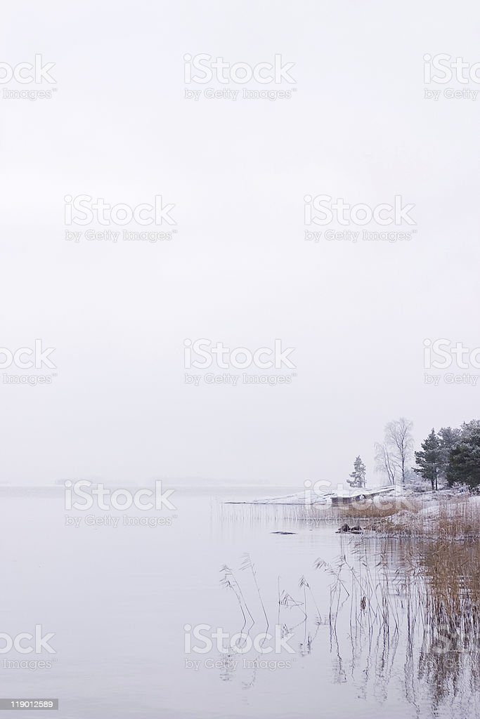 Cold Bay royalty-free stock photo