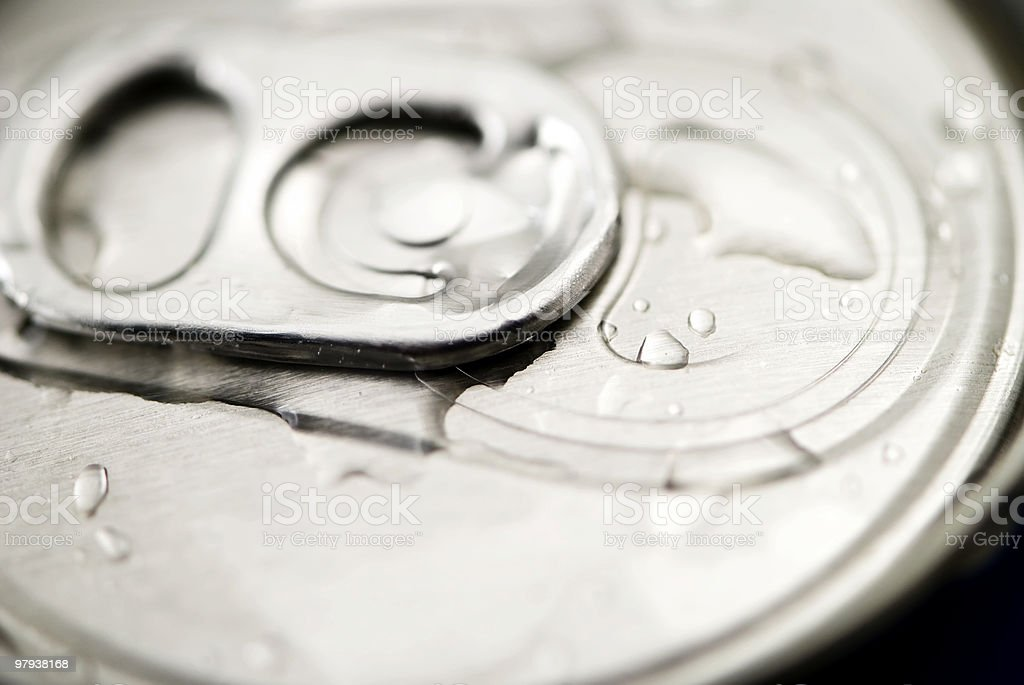 cold  beer can royalty-free stock photo
