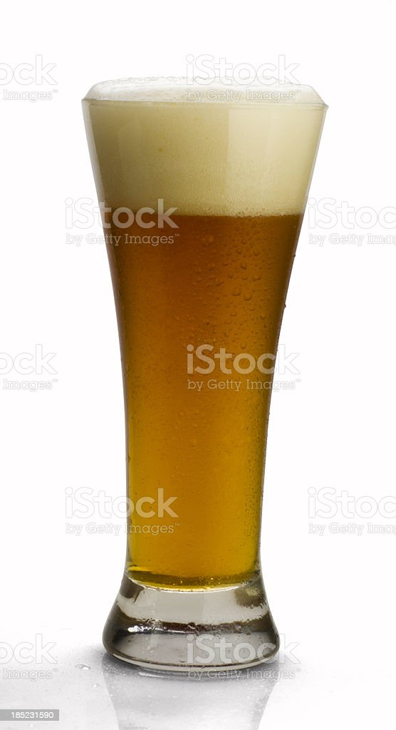 Cold Beer with Clipping Path stock photo