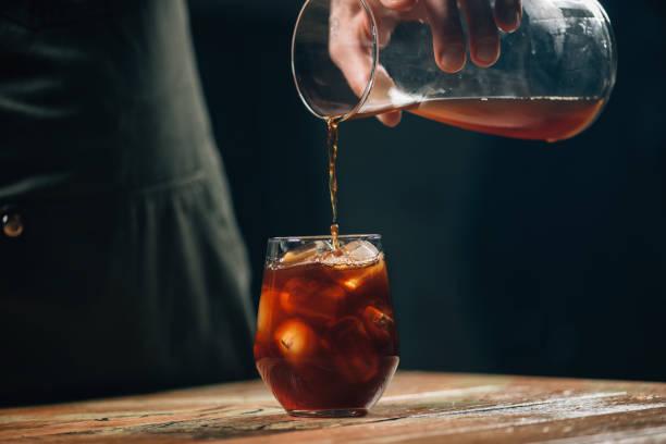 춥다 brew 커피  - 맥주 공장 뉴스 사진 이미지