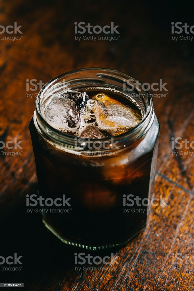 Cold Brew Coffee stock photo