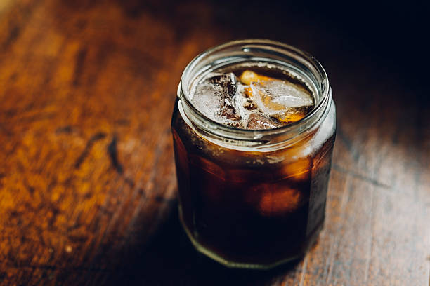cold brew coffee - iced coffee stock pictures, royalty-free photos & images
