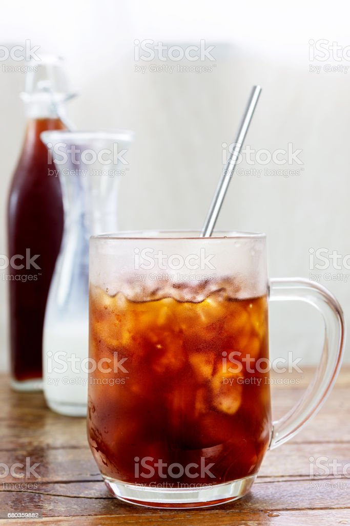 cold brew coffee royalty-free stock photo
