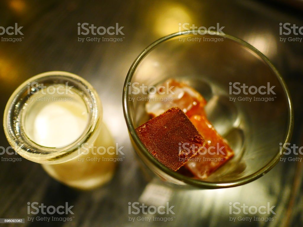cold brew float royalty-free stock photo